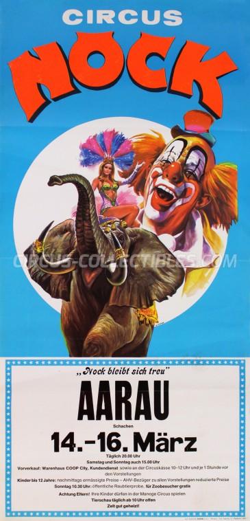 Nock Circus Poster - Switzerland, 1980