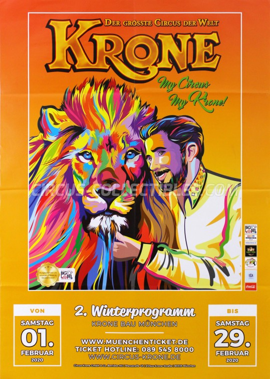 Krone Circus Poster - Germany, 2020