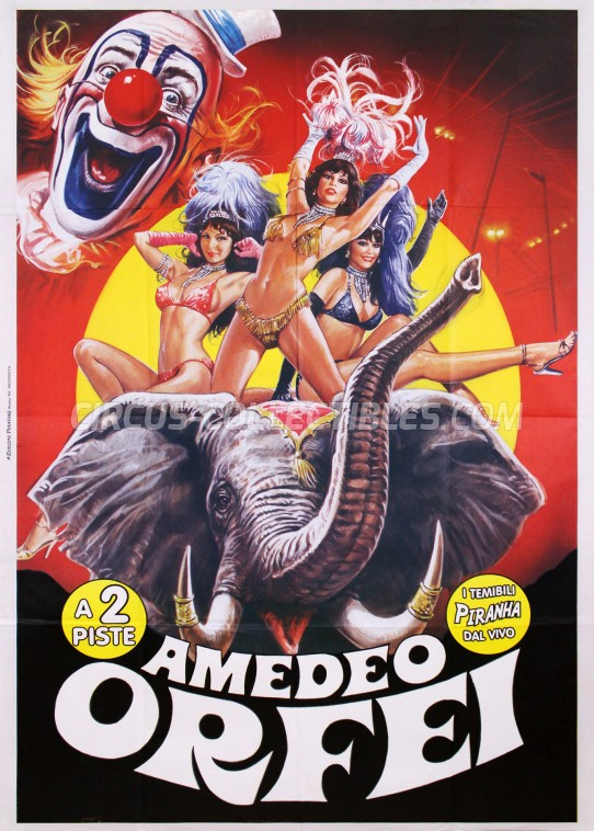 Amedeo Orfei Circus Poster - Italy, 2009