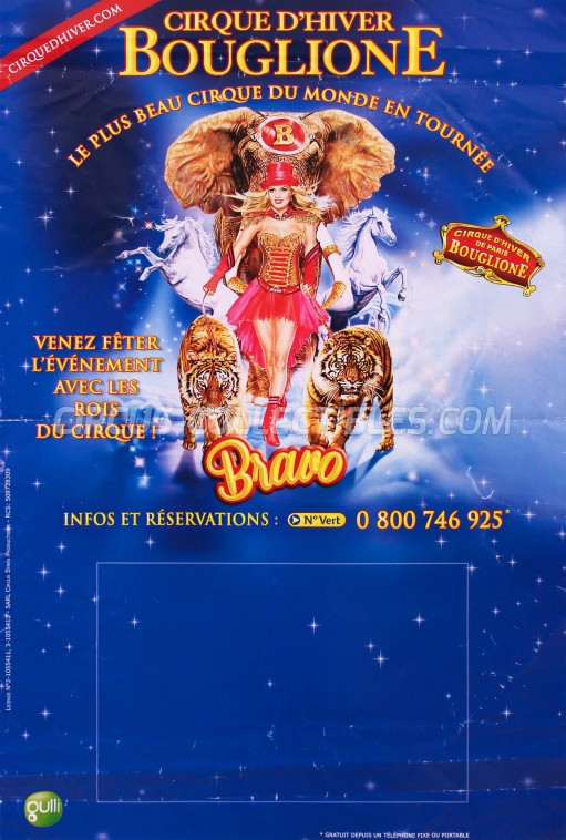Bouglione Circus Poster - France, 2015