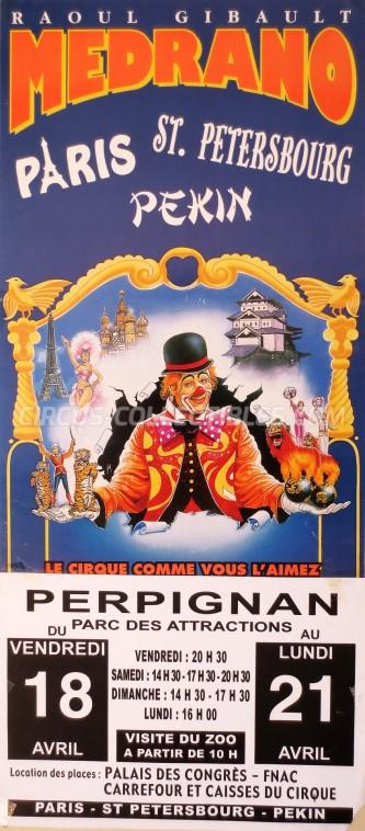 Medrano (FR) Circus Poster - France, 0
