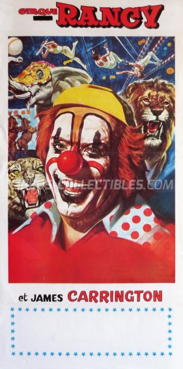 Sabine Rancy Circus Poster - France, 1979
