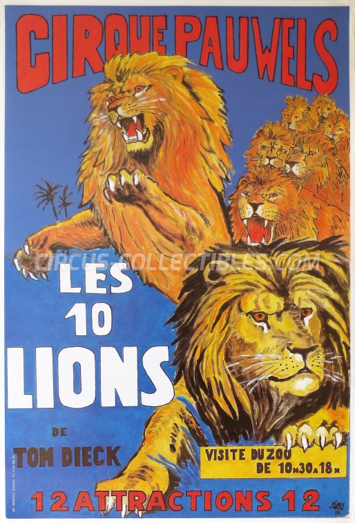 Pauwels Circus Poster - France, 1988