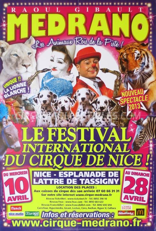 Medrano (FR) Circus Poster - France, 2013