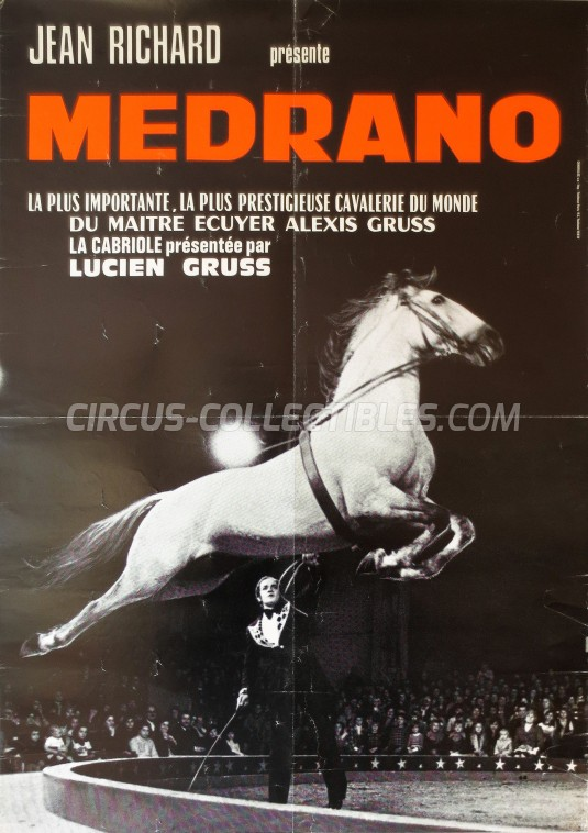 Medrano (FR) Circus Poster - France, 1978