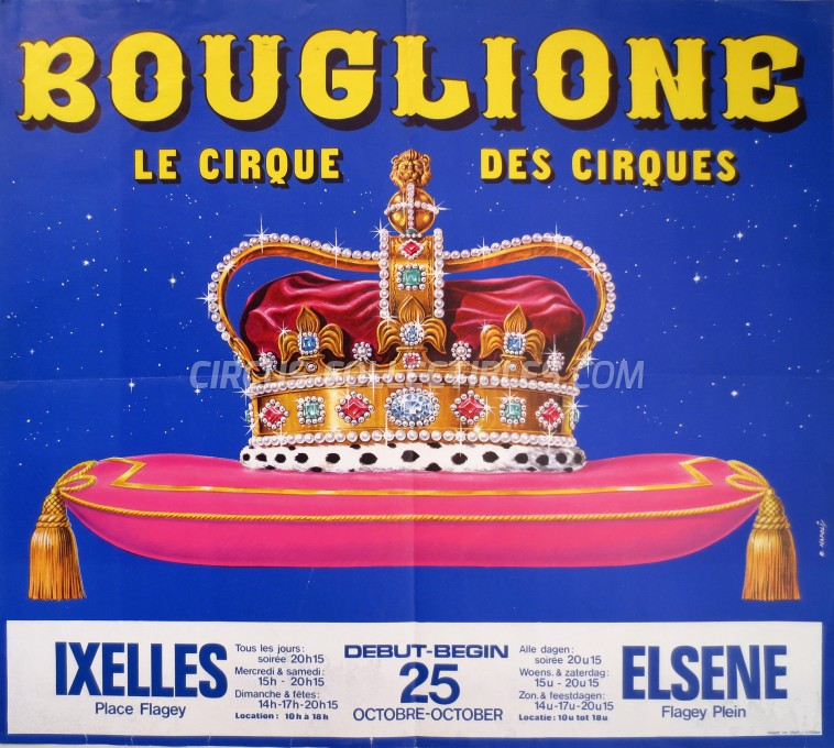 Bouglione Circus Poster - France, 1977