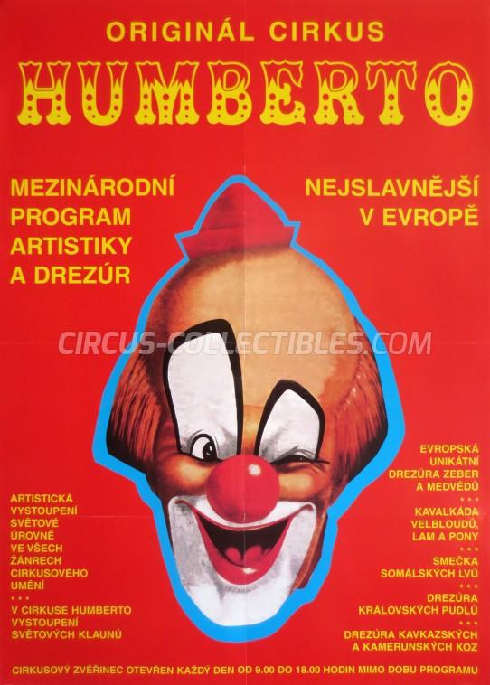 Humberto Circus Poster - Czech Republic, 2004