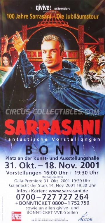 Sarrasani Circus Poster - Germany, 2001