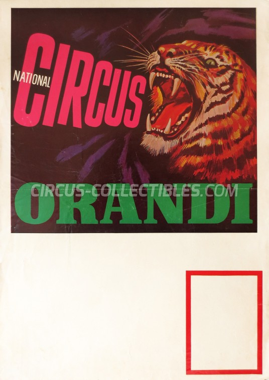 Orandi Circus Poster - Germany, 0