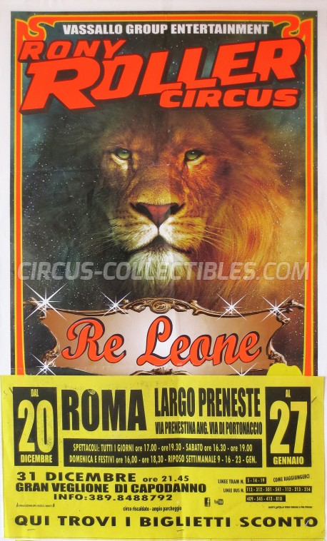 Rony Roller Circus Circus Poster - Italy, 0