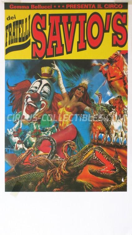 Fratelli Savio's Circus Poster - Italy, 0
