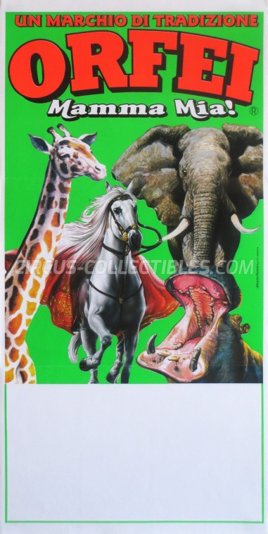 Orfei Circus Poster - Italy, 0