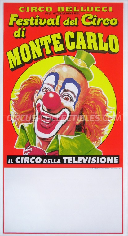 Bellucci Circus Poster - Italy, 0