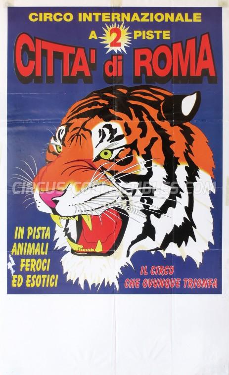 Citta' di Roma Circus Poster - Italy, 0