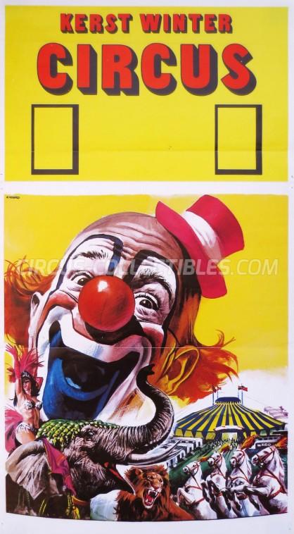Kerstcircus Circus Poster - Netherlands, 0