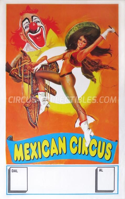 Mexican Circus Circus Poster - Italy, 2000