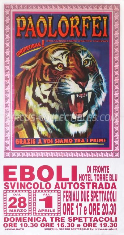 Paolo Orfei Circus Poster - Italy, 0