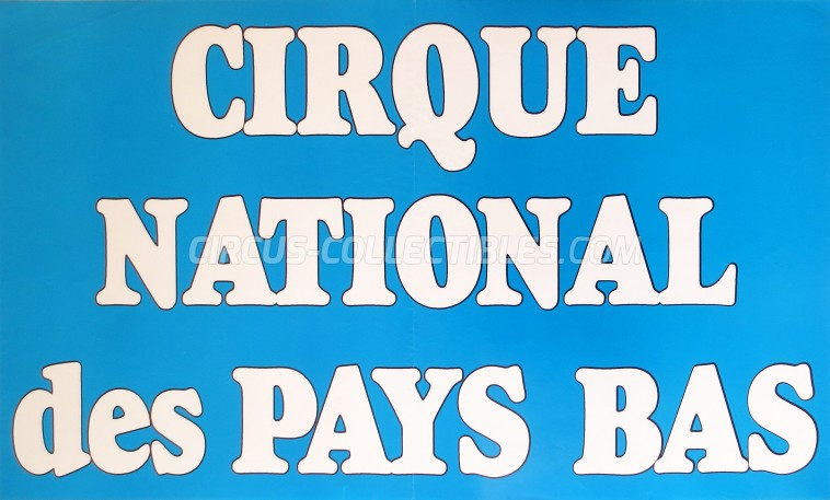 Holiday Circus Poster - Netherlands, 1985