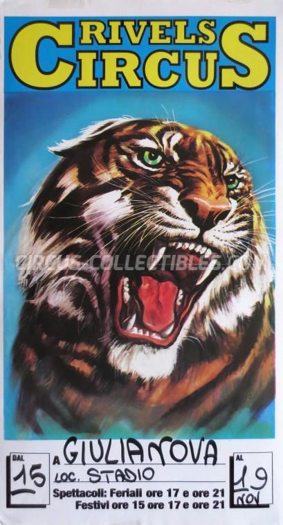 Rivels Circus Circus Poster - Italy, 1986