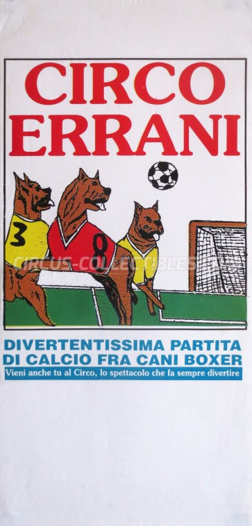 Errani Circus Poster - Italy, 0