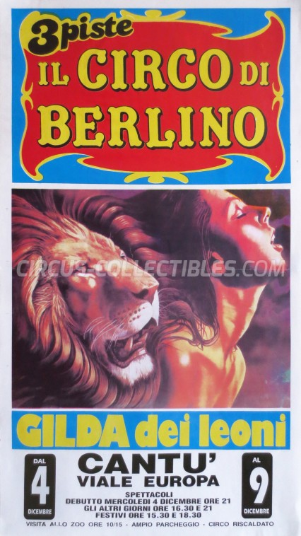 Wulber Circus Poster - Italy, 0