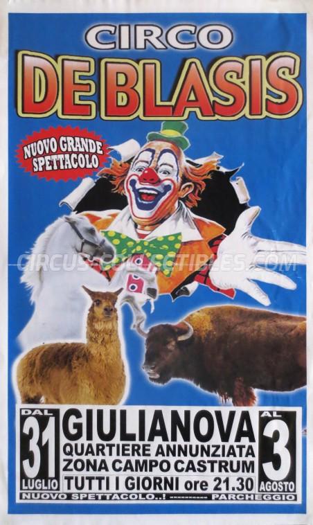 De Blasis Circus Poster - Italy, 0