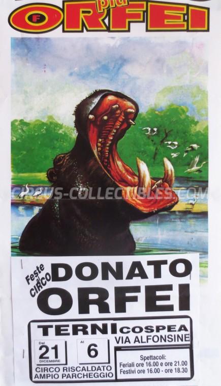 Donato Orfei Circus Poster - Italy, 0