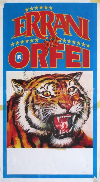 Errani Circus Poster - Italy, 1997