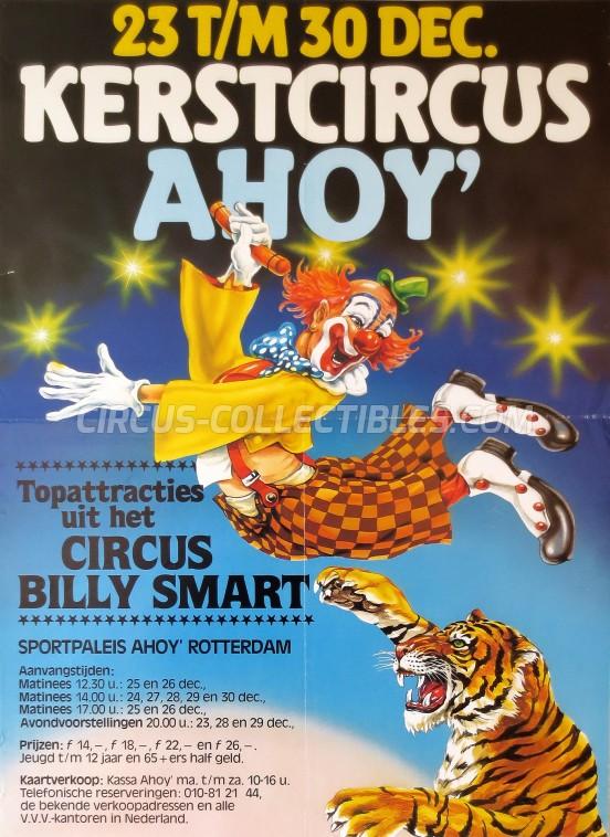 Kerstcircus Circus Poster - Netherlands, 1982