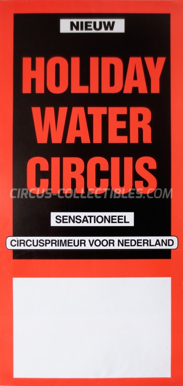 Holiday Circus Poster - Netherlands, 0