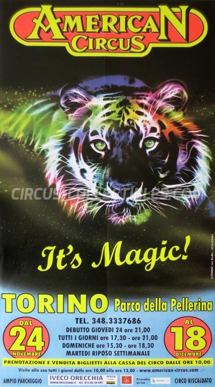 American Circus Circus Poster - Italy, 2011