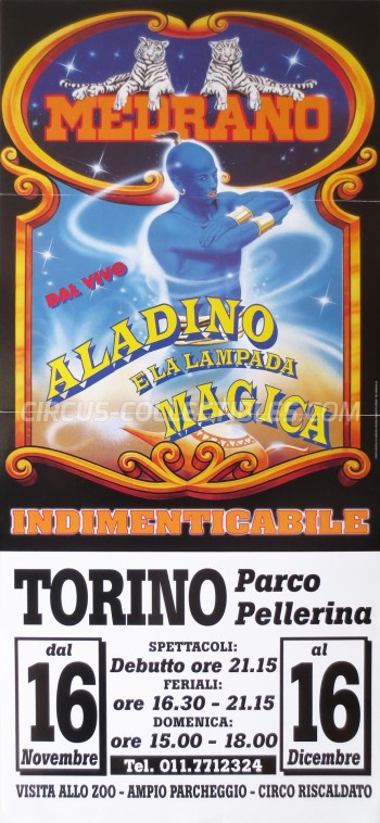 Medrano (Casartelli) Circus Poster - Italy, 2001