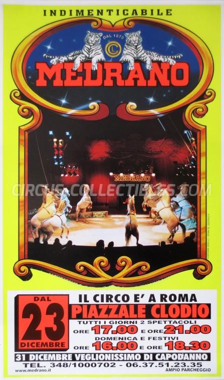 Medrano (Casartelli) Circus Poster - Italy, 2005