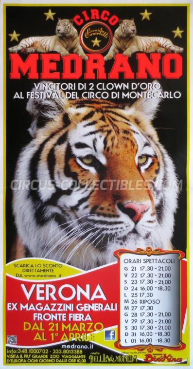 Medrano (Casartelli) Circus Poster - Italy, 2013