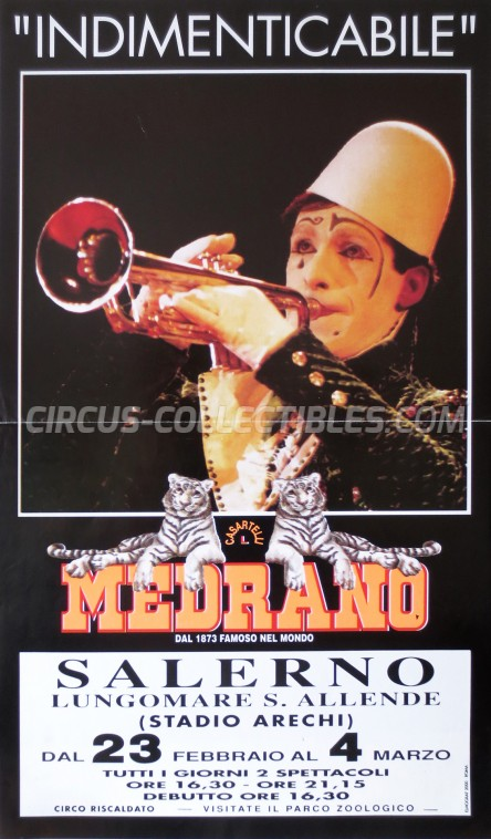 Medrano (Casartelli) Circus Poster - Italy, 1993