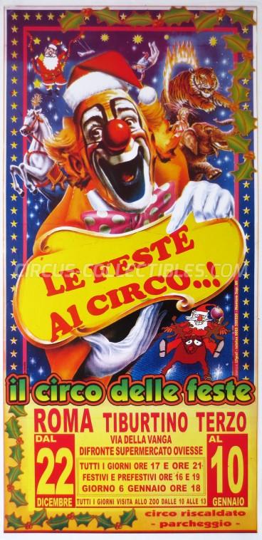 Il Circo delle Feste Circus Poster - Italy, 0