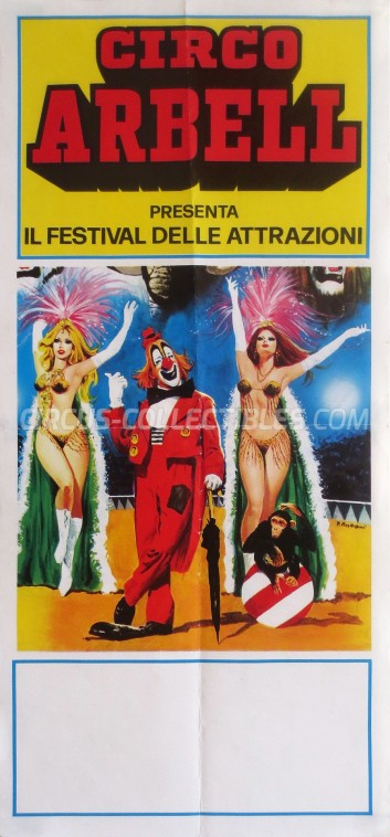 Arbell Circus Poster - Italy, 0