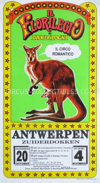 Darix Togni Circus Poster - Italy, 1993