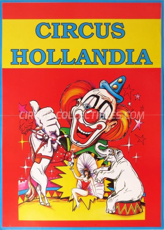 Hollandia Circus Poster - Netherlands, 1994