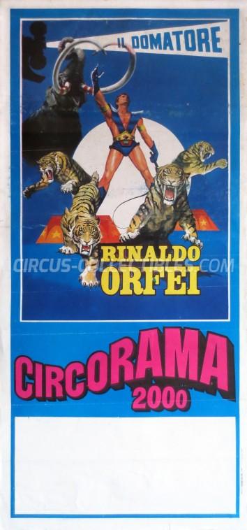Rinaldo Orfei Circus Poster - Italy, 0