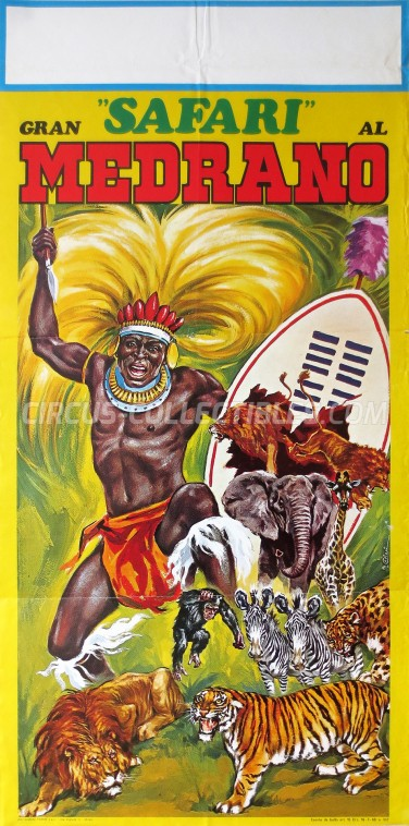 Medrano (Casartelli) Circus Poster - Italy, 1972