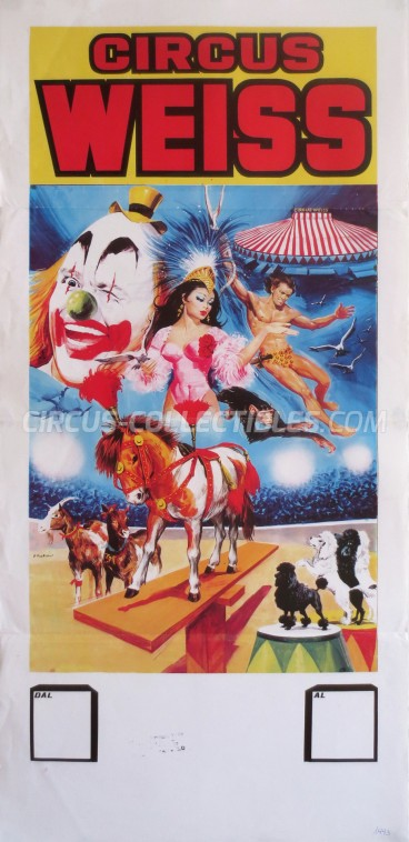 Weiss Circus Poster - Italy, 1993
