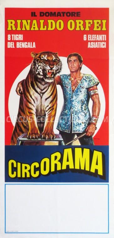 Rinaldo Orfei Circus Poster - Italy, 1978
