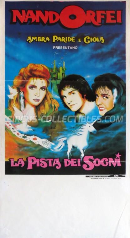Nando Orfei Circus Poster - Italy, 1991
