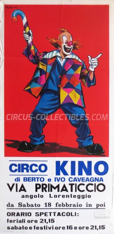 Kino Circus Poster - Italy, 1984