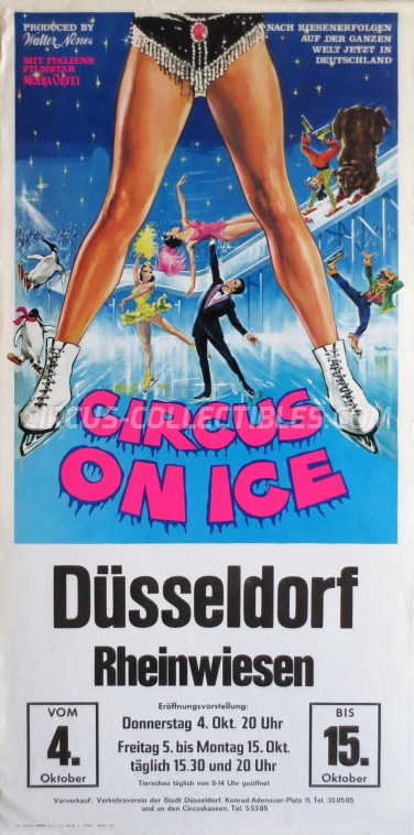 Moira Orfei Circus Poster - Italy, 1973