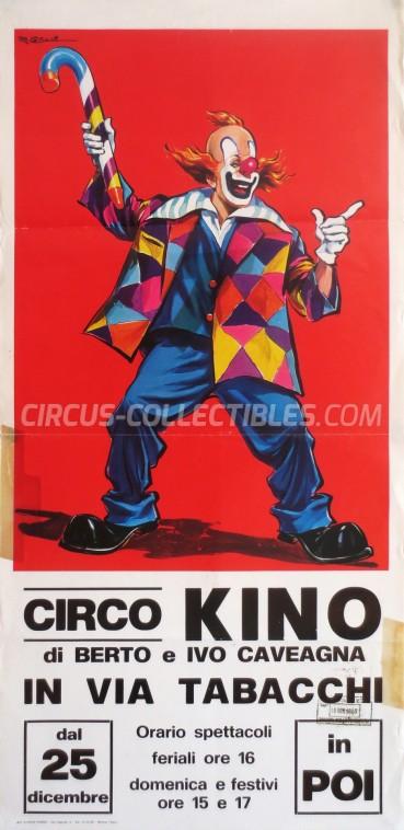 Kino Circus Poster - Italy, 1983
