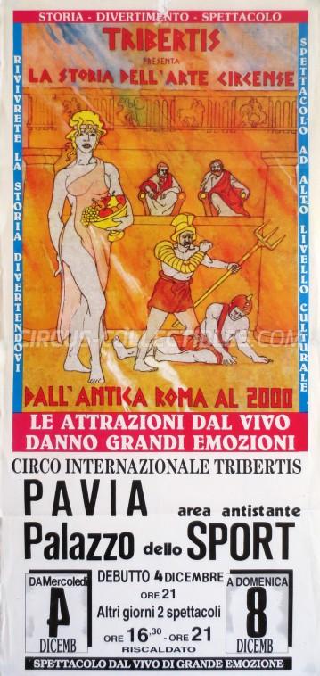 Tribertis Circus Poster - Italy, 1991