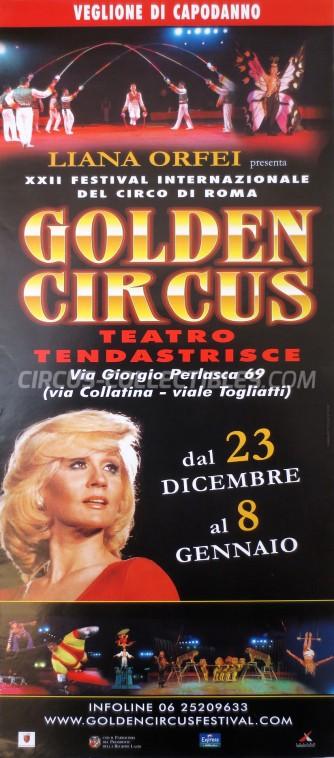 Liana Orfei Circus Poster - Italy, 2005