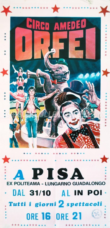 Amadeo Orfei Circus Poster - Italy, 0